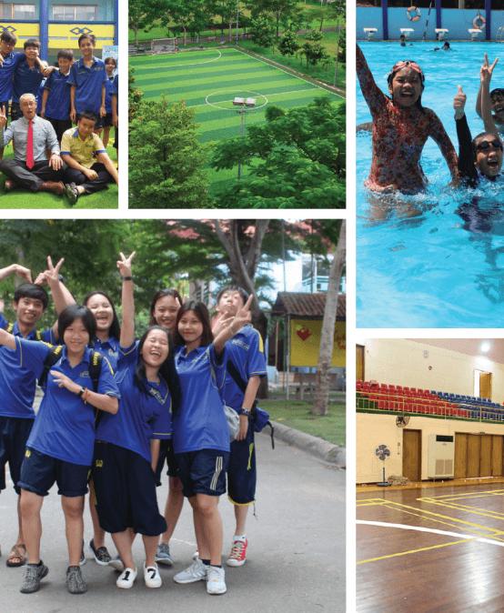Trường quốc tế: thể thao không chỉ là sở thích 2018