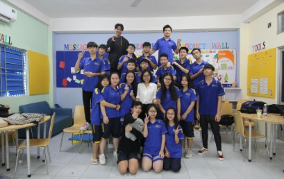 Khoảnh Khắc Thầy Trò 2018 – Ảnh dự thi lớp 10D2