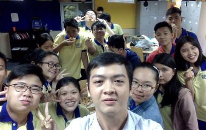 Khoảnh Khắc Thầy Trò 2018 – Ảnh dự thi lớp 11D1