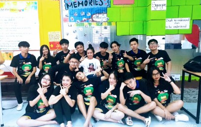 Khoảnh Khắc Thầy Trò 2019 – Ảnh dự thi lớp 11E2